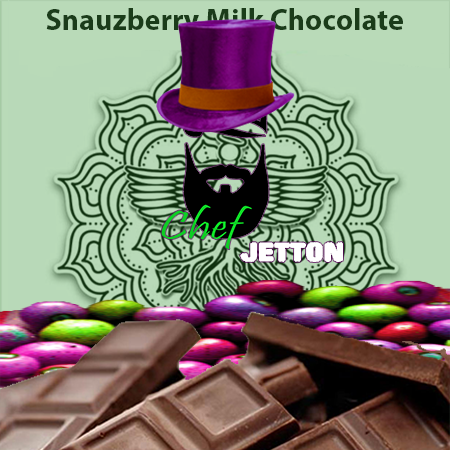 Snauzberry Milk Choc. Bar